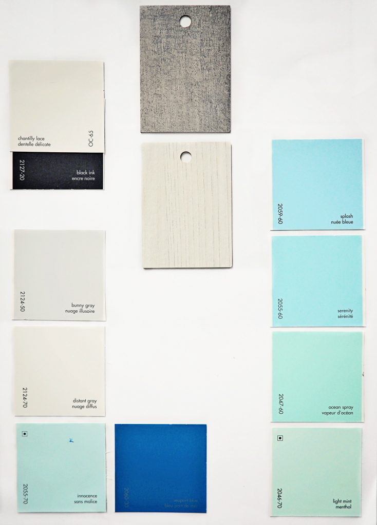 paint, palette, swatches, blue, color, gray, grey, accent, neutral, trim