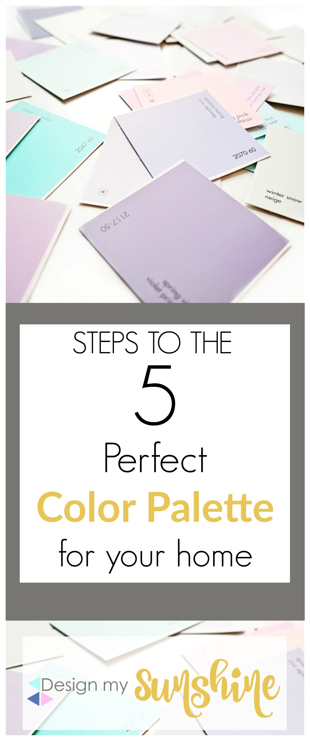 5 Steps to the Perfect Color Palette for your home