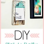 Barn Wood Wall hanging DIY