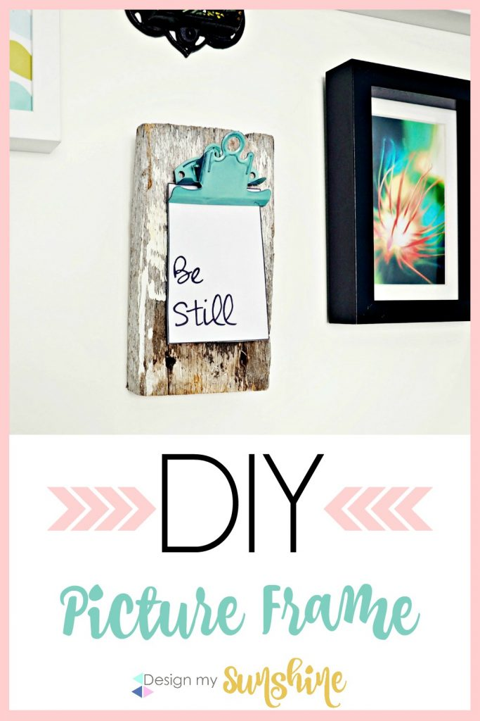 Barn wood, Spray paint, DIY, Picture frame, gallery wall, printable, farmhouse, modern